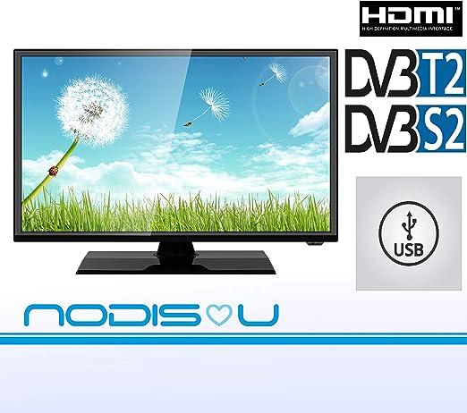 Televisor 24 pulgadas NODIS LED HD DVB-T2/S2 digital de última ...