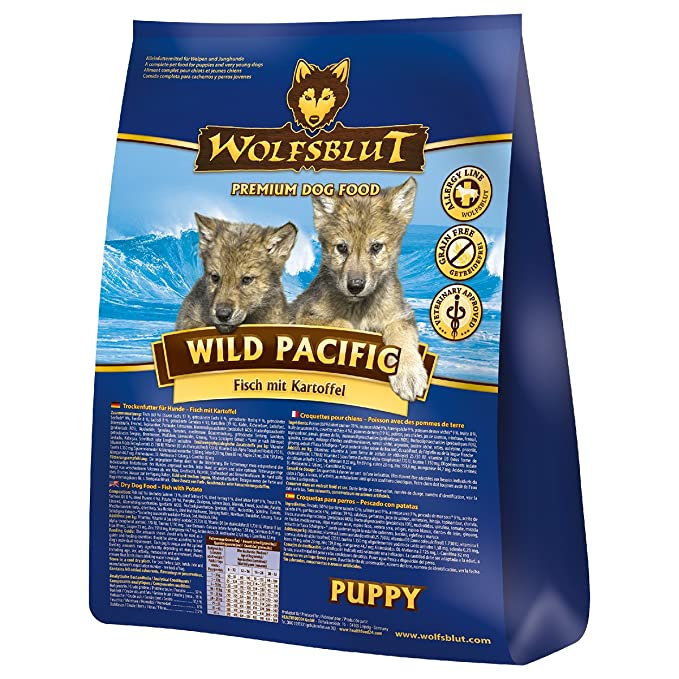 Wolf sangre Wild Pacific Puppy, 1er Pack (1 x 2 kg): Amazon ...