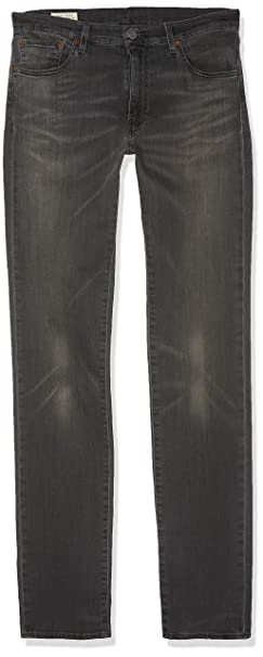 Levis Hombre 511 Slim Fit Jeans, Gris