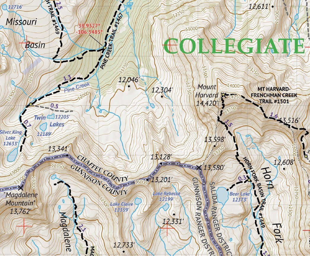 The Colorado Wilderness Map Series, Volume 1 and Rocky Mountain ...