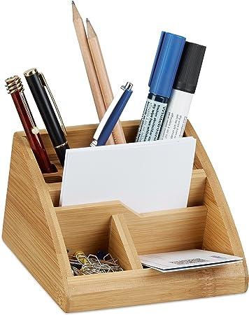 Schreibtisch Organizer Bambus Büro Organizer Tischorganizer Stiftaufbewahrung