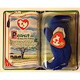 Peanut the Royal Blue Elephant Ty Tennie Beanie Baby