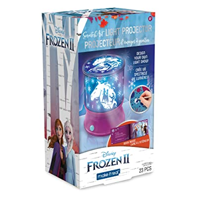 Make It Real – Disney Frozen 2 Starlight Projector - DIY Ceiling Projector for Girls - Illuminates Kids Bedrooms with Scenes from Disney's Frozen 2: Toys & Games