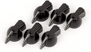 Fender Pure Vintage Black Chicken Head Knobs