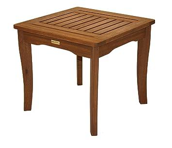Amazon Com Outdoor Interiors Eucalyptus End Table Patio