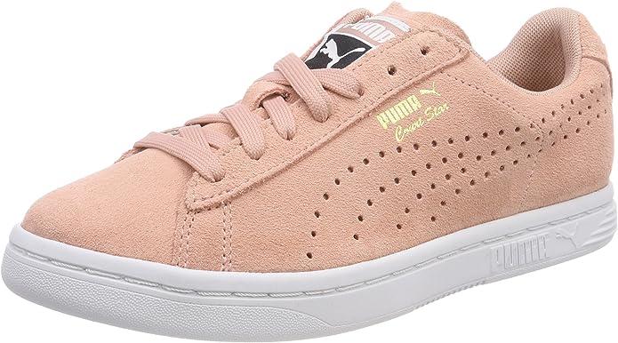 Puma Court Star Sneaker Damen Herren Unisex Beige (Pfirsich)