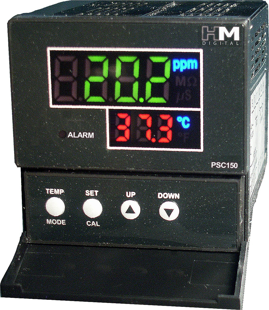 HM Digital PSC-150 Extended Range EC/TDS Controller, 0-9999 µS Measurement Range, 0.1 µS/ppm Resolution, +/-2% Readout Accuracy