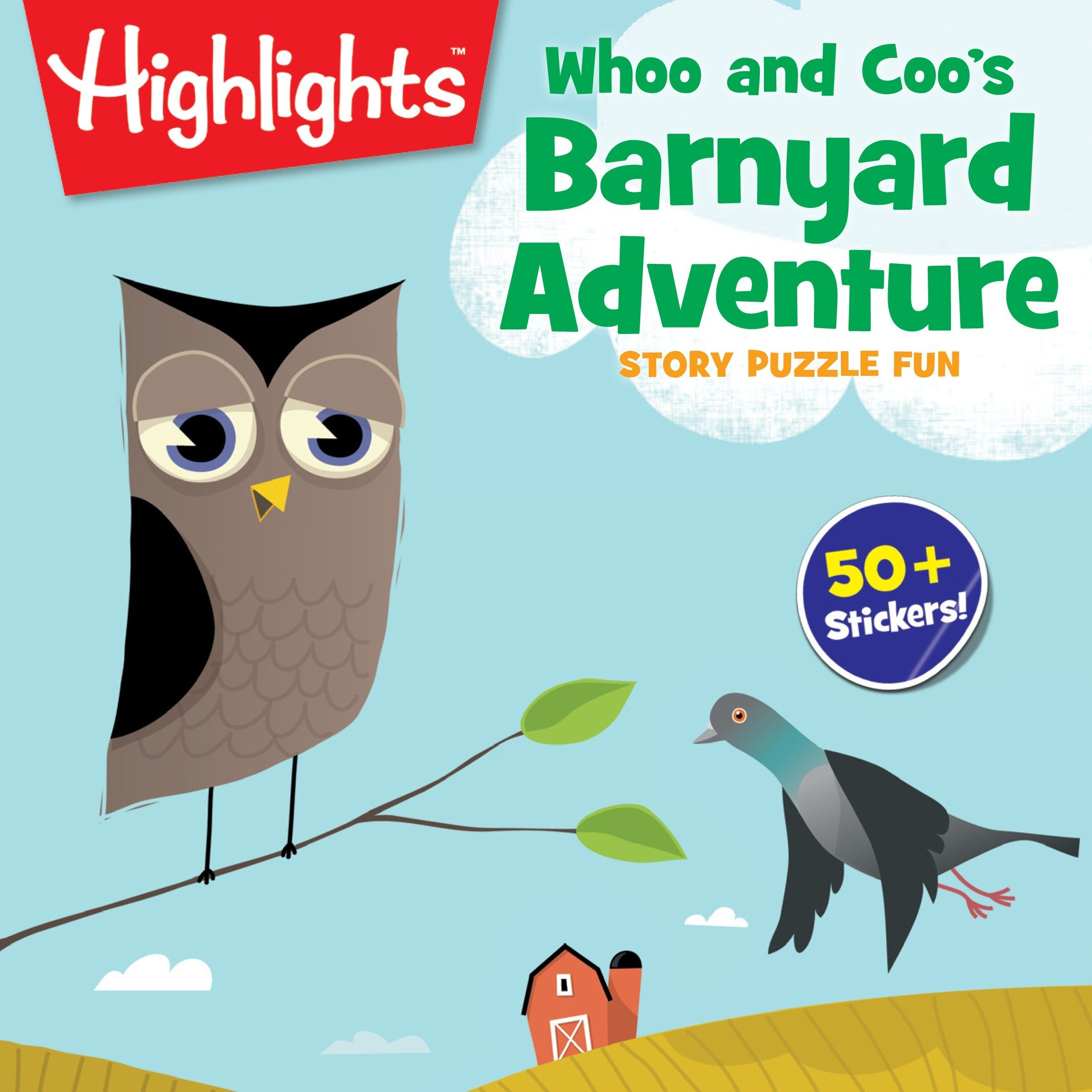 Download Whoo and Coo's Barnyard Adventure (Highlights™ Story Puzzle Fun) pdf epub