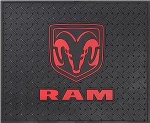 "Plasticolor Dodge Ram Logo Utility Mat 14"""