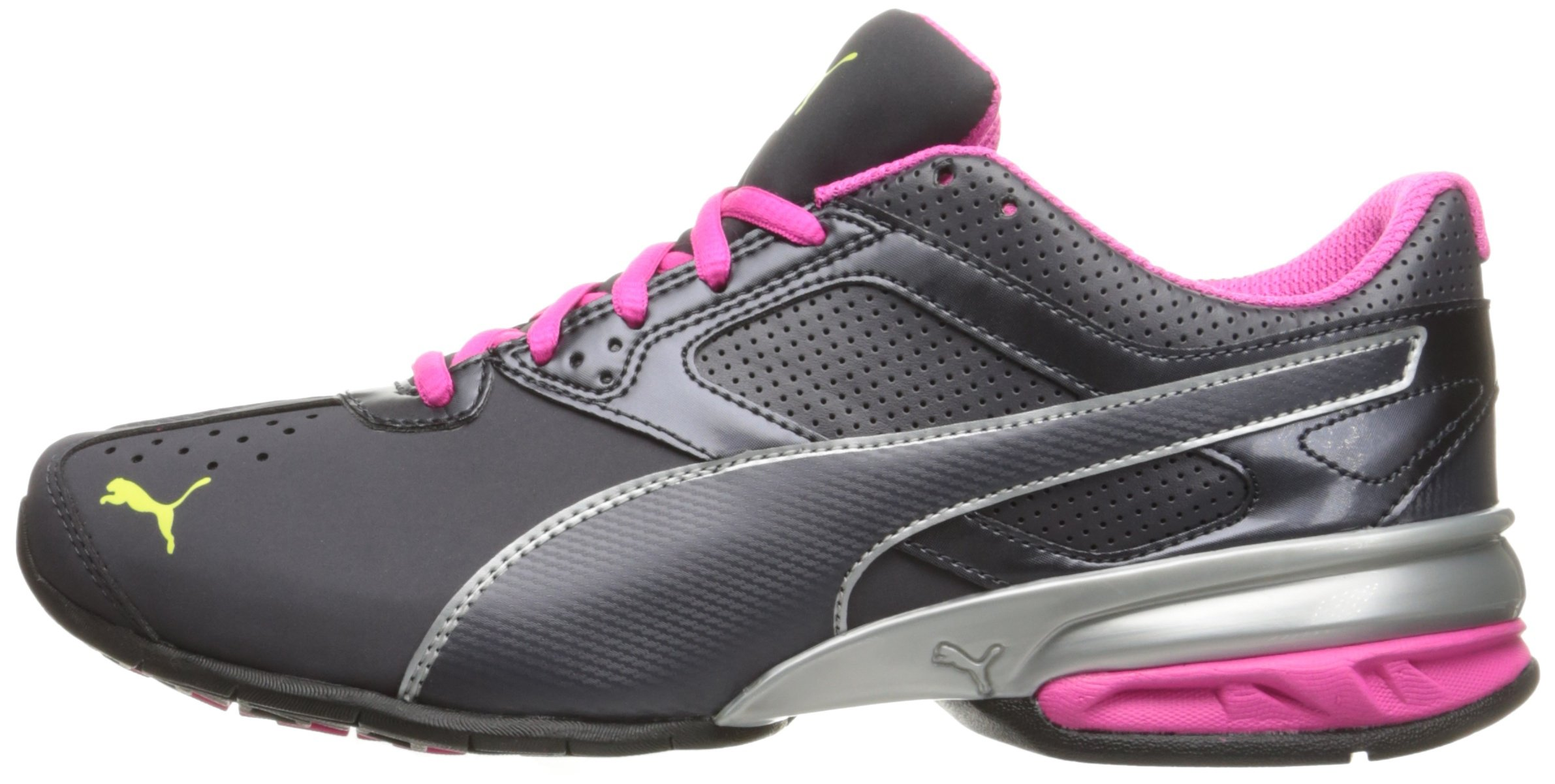 PUMA Women's Tazon 6 WN's fm Sneaker Periscope Silver-Pink glo, 6 M US by PUMA (Image #5)