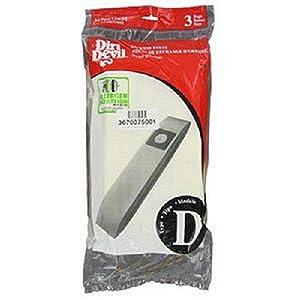 Dirt Devil Type D Microfresh Vacuum Bags (3-Pack), 3670075001