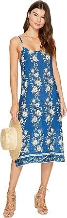 93555e0588a2 Show Me Your Mumu Women's Shiloh Slip Dress Bunch Of Blooms Cruise Dress