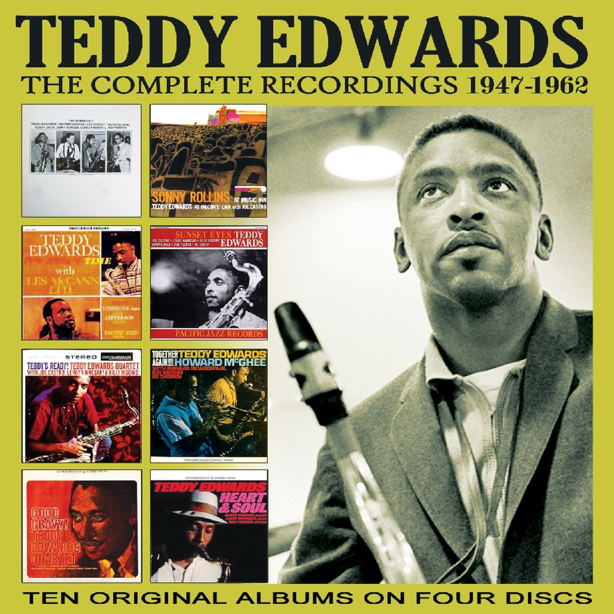 Teddy Edwards - Complete Recordings 1947-62