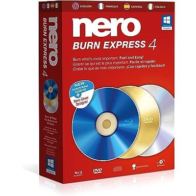 Nero Burn Express 4 - Sofware De Grabación