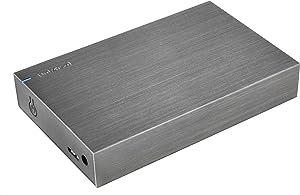 Intenso 6033512 - Disco Duro Externo HDD 3.5 (4TB, USB 3.0) Color Antracita
