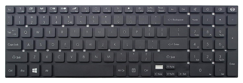 Original New US Laptop Keyboard without frame for Packard Bell EasyNote EN LV11HC LV44HC