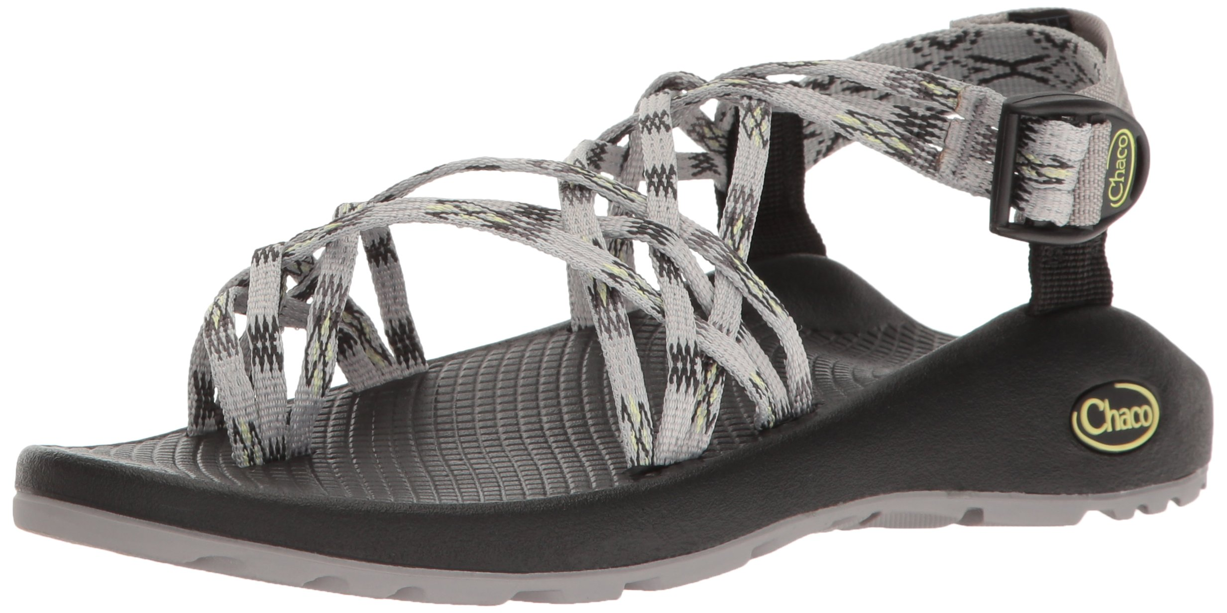 Chaco Women's ZX3 Classic Athletic Sandal, Lime Gray, 9 M US