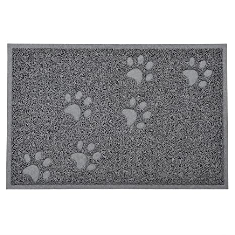 Alfombrilla impermeable para gatos y gatos, para comer comida de mascotas