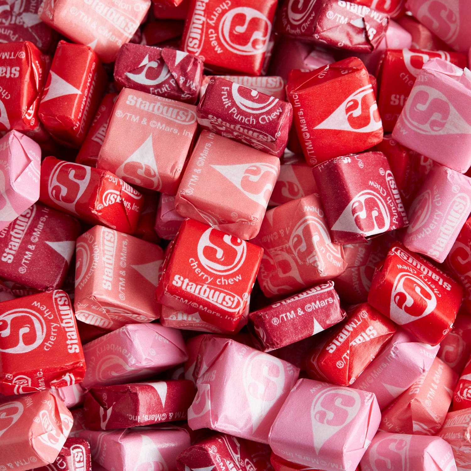 Starburst Fav Reds Fruit Chews Candy-5 Pounds Bulk/ Wholesale-Great for Snacking, Treats, Baking, Candy Bowls
