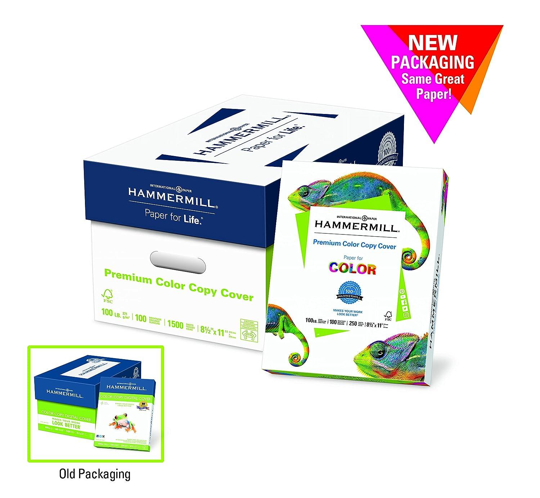 Amazon.com : Hammermill Paper, Premium Color Copy Digital Cover ...