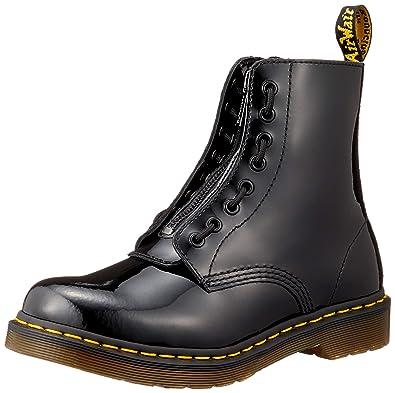c644a790b213b Dr. Martens Women s 1460 Pascal FRNT Zip Mid Calf Boot Black 3 M UK (
