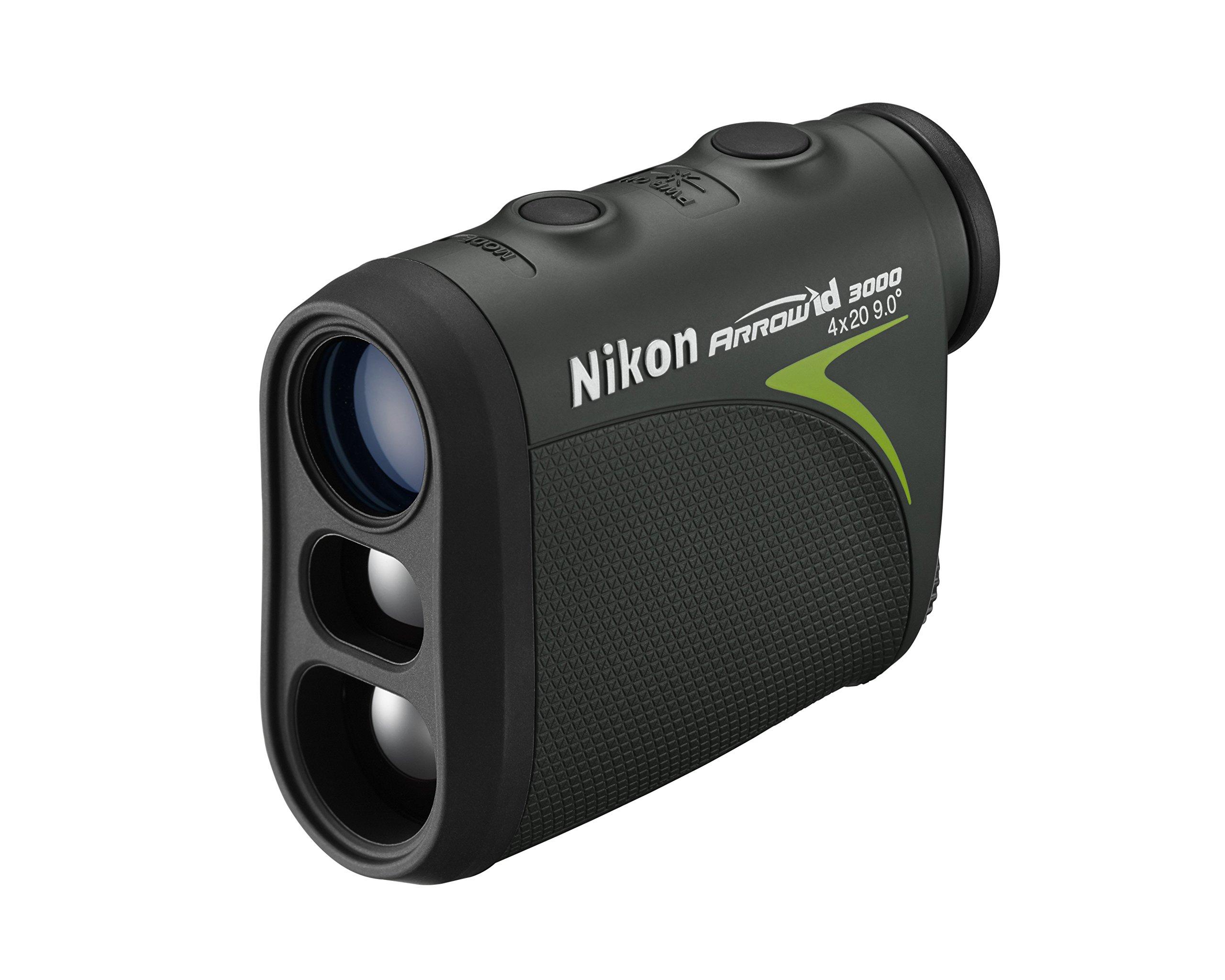 Nikon 16224 Arrow ID 3000 Bowhunting Laser Rangefinder by Nikon