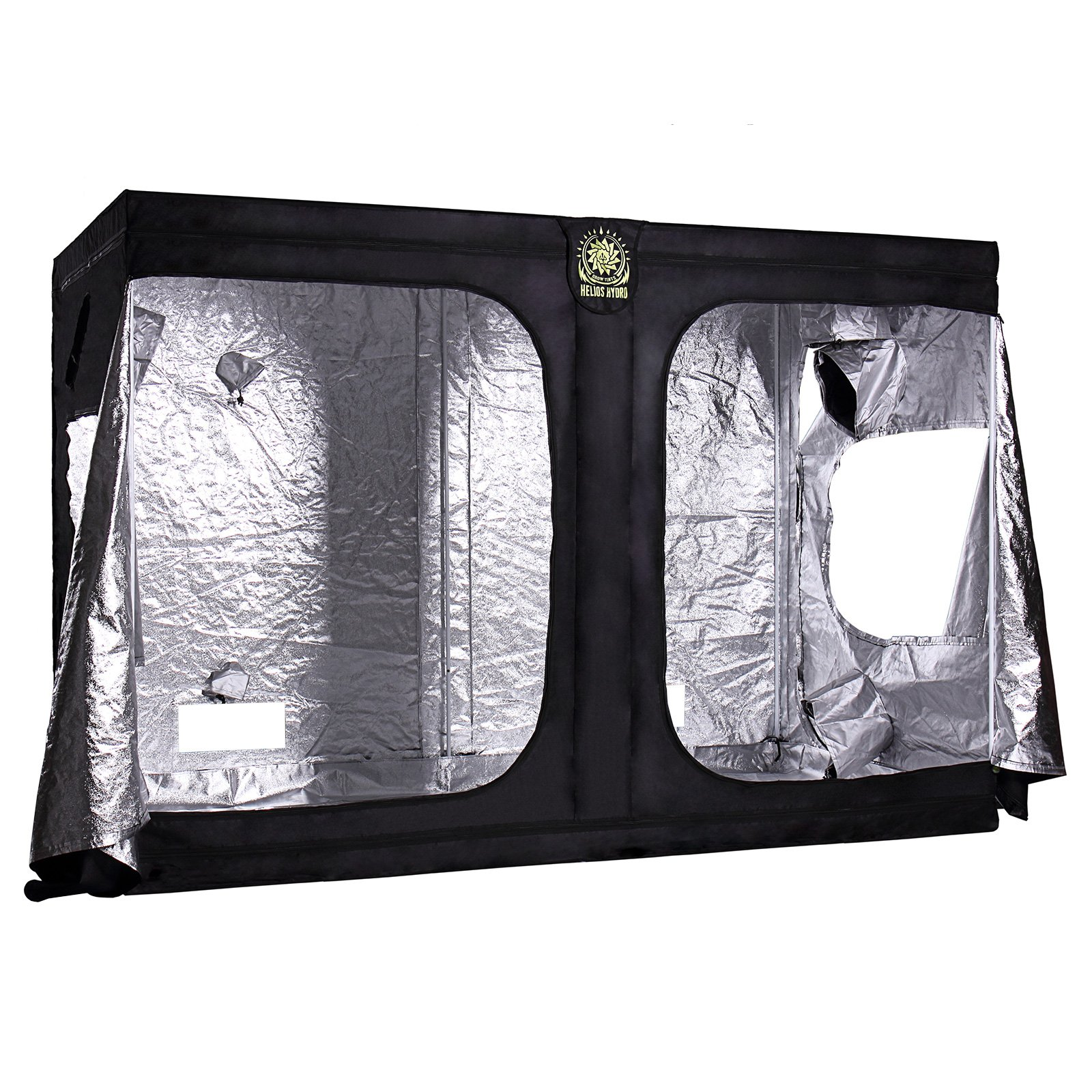 Helios 120'' x 60'' x 80'' Grow Tent – Indoor Mylar Hydroponic Plant Growing Room