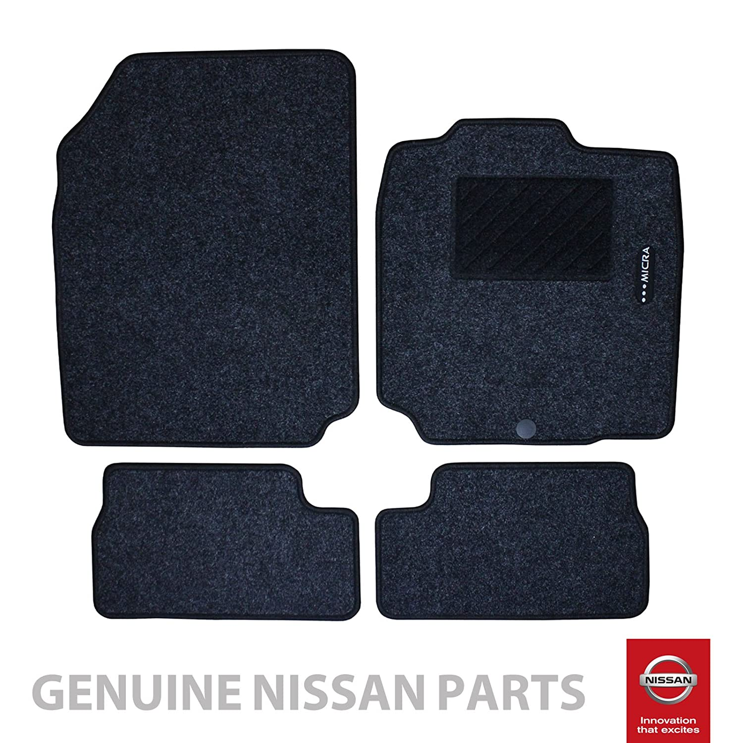 New Genuine NISSAN MICRA 2002-2010 (K12) Carpet Floor mats x4 (Front & Rear)