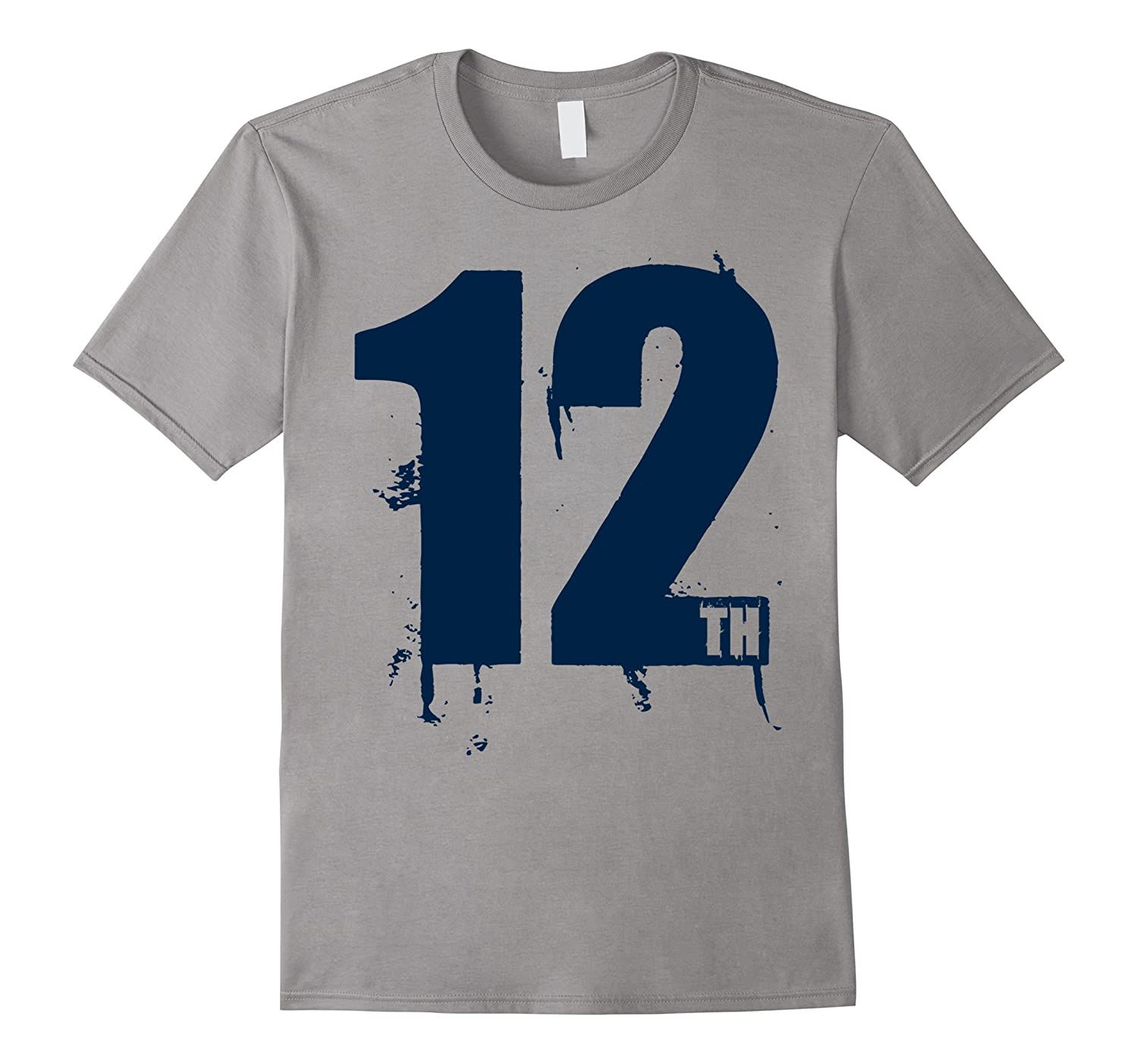12th Man T-Shirt for Seattle Fans!-BN