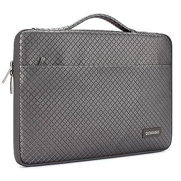 b48aeb0b93 DOMISO 15-15,6 Pouces Imperméable Housse Pochette de Protection Ordinateur  Portable Sacoche pour