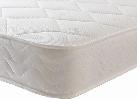 Starlight Beds Double Mattress Memory Foam Mattress Sprung