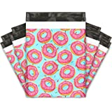 10x13 (100) Sprinkled Donuts Designer Poly Mailers Shipping Envelopes Premium Printed Bags