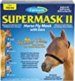 SuperMask II Horse Fly Mask with Ears Shimmer Weave Mesh