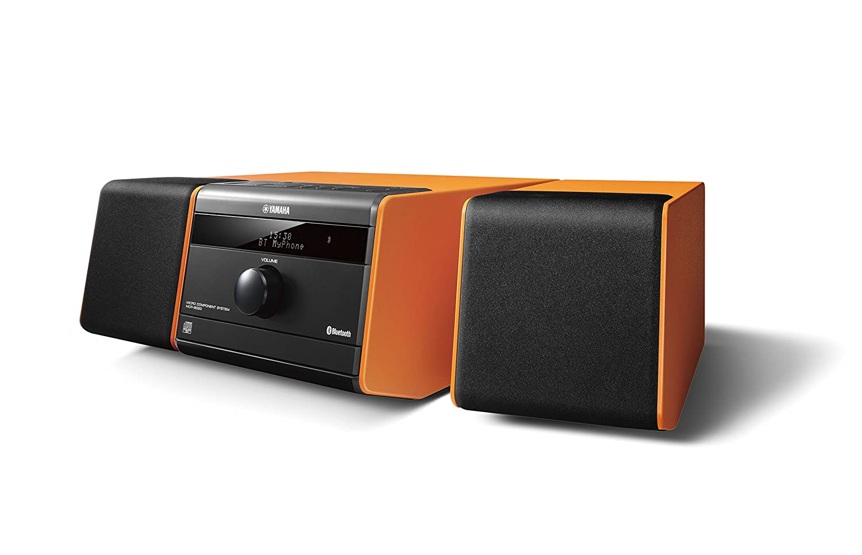 Yamaha MCR Microcadena Bluetooth USB color naranja