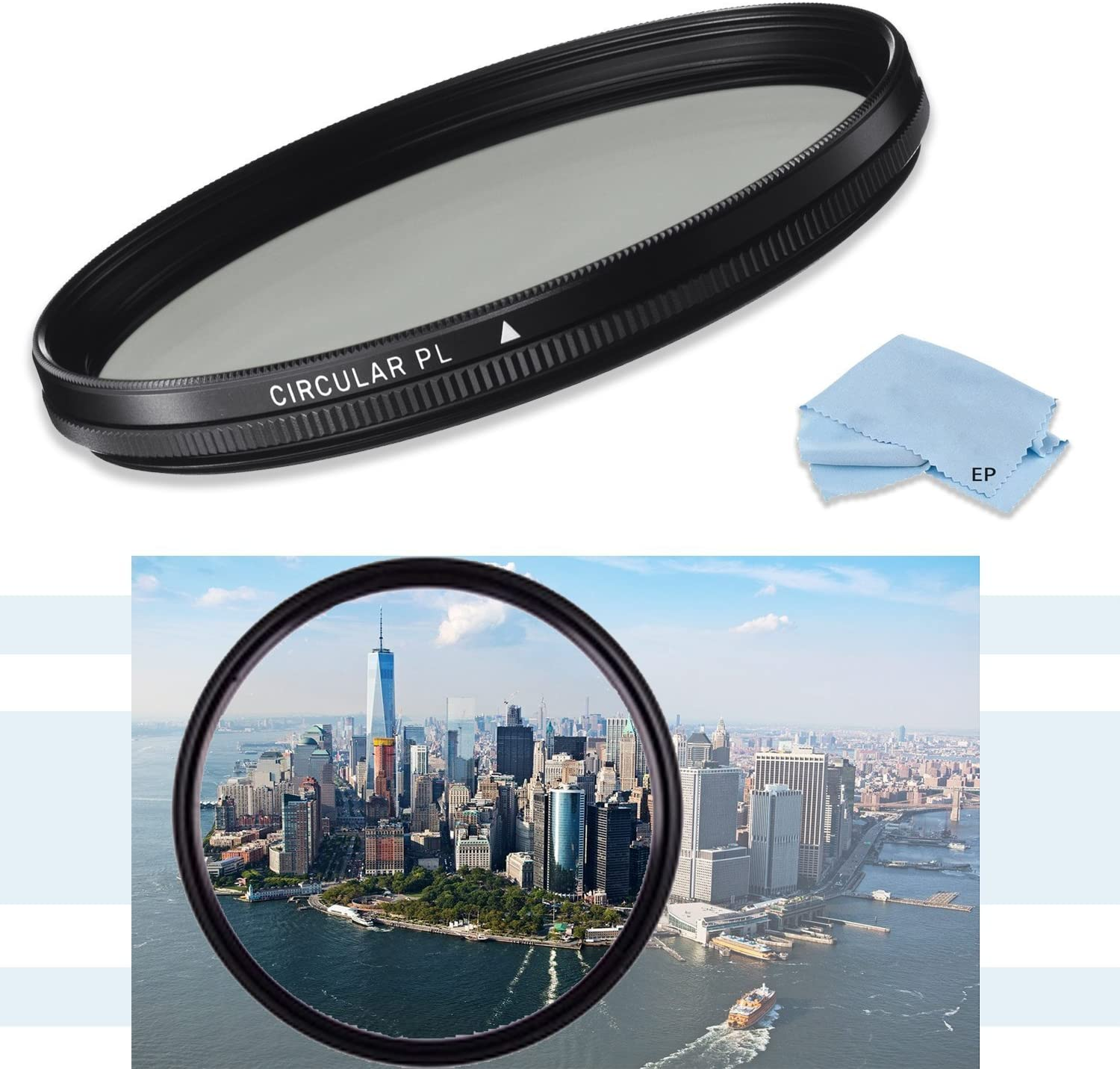 Canon EF 135mm f//2L USM Lens Canon EF 200mm f//2.8L II USM Telephoto Lens /& Canon EF 35mm f//1.4L USM Wide Angle Lens HD 72mm CPL Circular Polarizing Filter for Canon EF 50mm f//1.2 L USM Lens