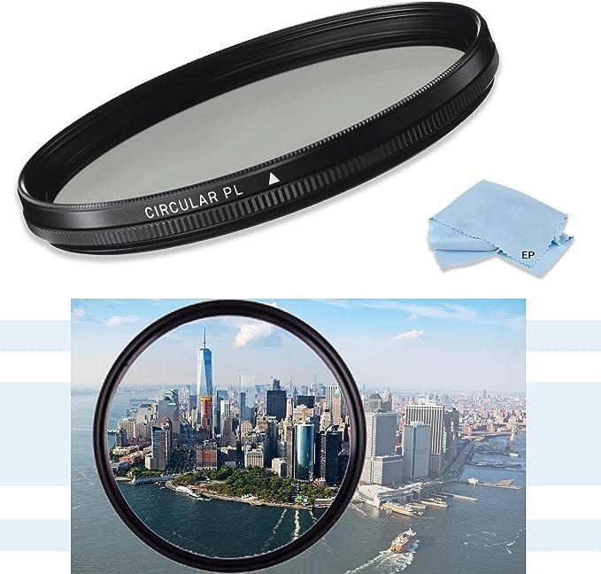 CPL Circular Polarizer Glare Shine Polarizing Filter for Tamron SP 24-70mm F//2.8 Di VC USD Lens