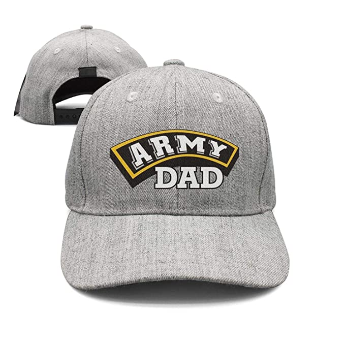 63014665aa0a9 Marinas Army dad Army Gifts Women Men Strapback hat Adjustable Sports Cap  Fashion caps