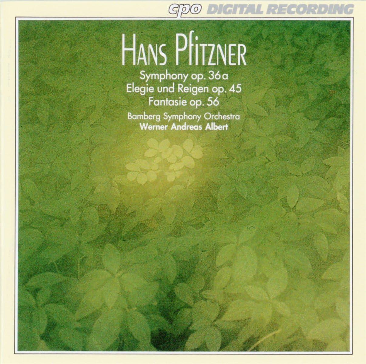 Sym For Large Orch/Elegie & Ro: Pfitzner, H.: Amazon.it: Musica