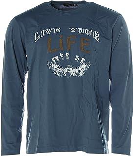 c95970ea534243 Heine - Best Connections Jersey-Twinset Blau Größe 36: Amazon.de ...