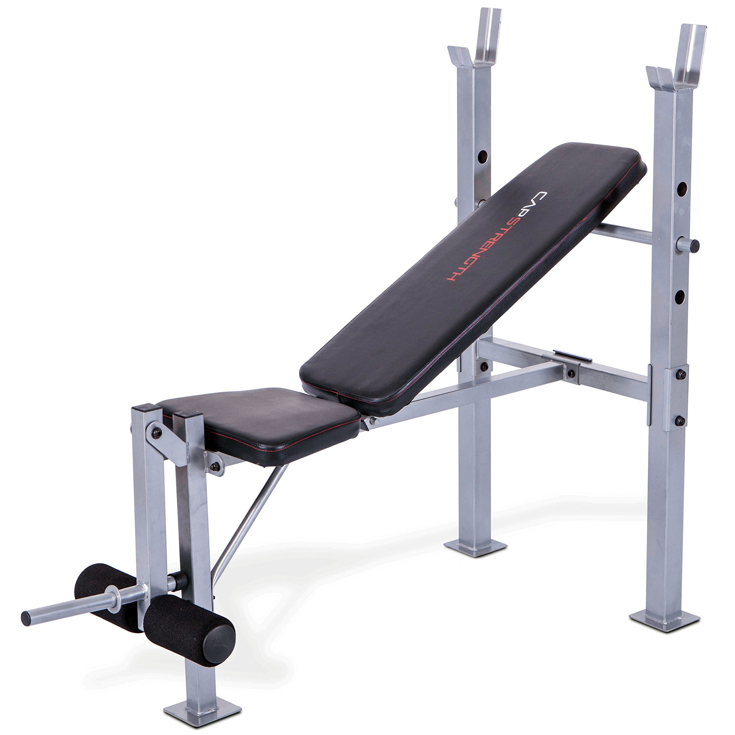 CAP Barbell FM-CS7230 Cap Strength Standard Weight Bench with Leg Developer