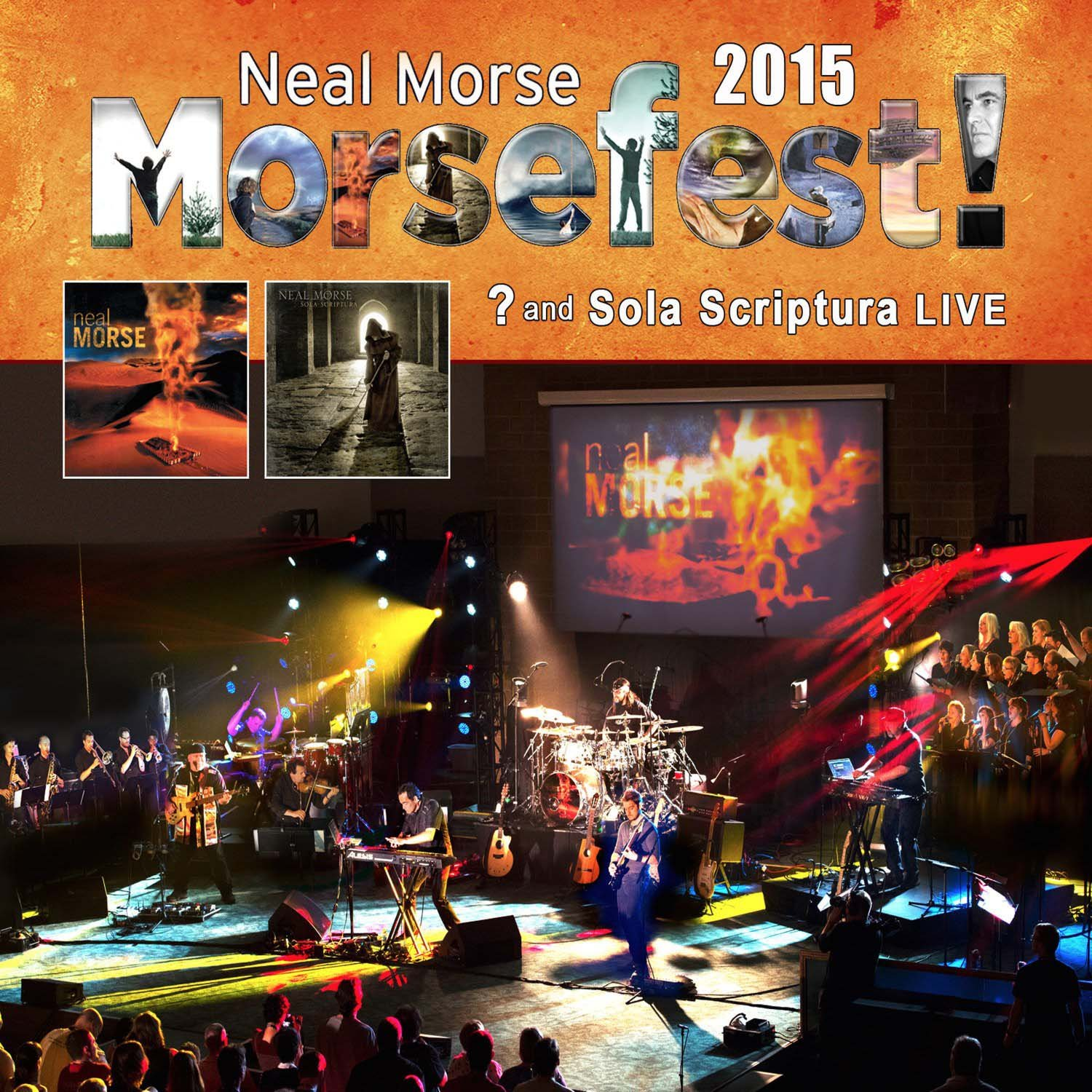 Blu-ray : Neal Morse - Morsefest 2015 Sola Scriptural And? Live (2 Disc)