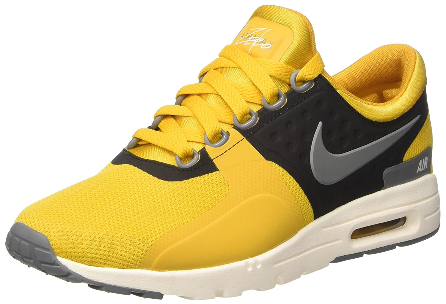 NIKE Women's Air Max Zero Running Shoe B01MR4MIV8 6 M US|Gold Dart/Cool Grey-ivory