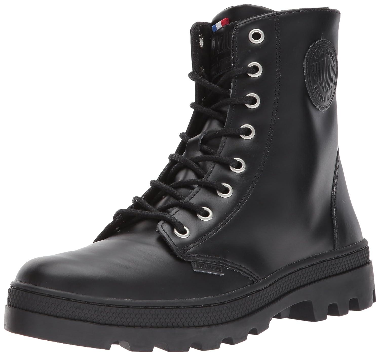Palladium Women's Pallabosse Off Lea Chukka Boot B01N3A8GKG 8.5 B(M) US|Black