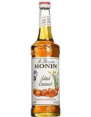 Monin Salted Caramel Syrup, 750 ml Glass Bottle by Monin