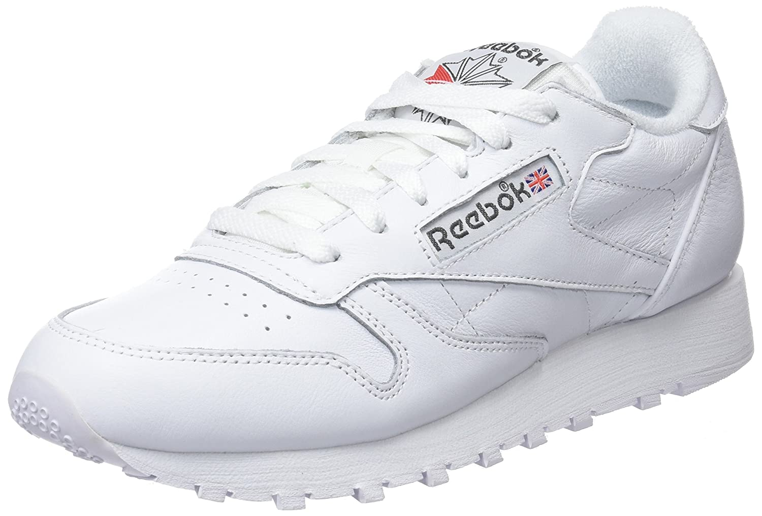 Reebok Classic Leather Archive, Zapatillas para Mujer 40.5 EU|Blanco (White/Carbon/Red)