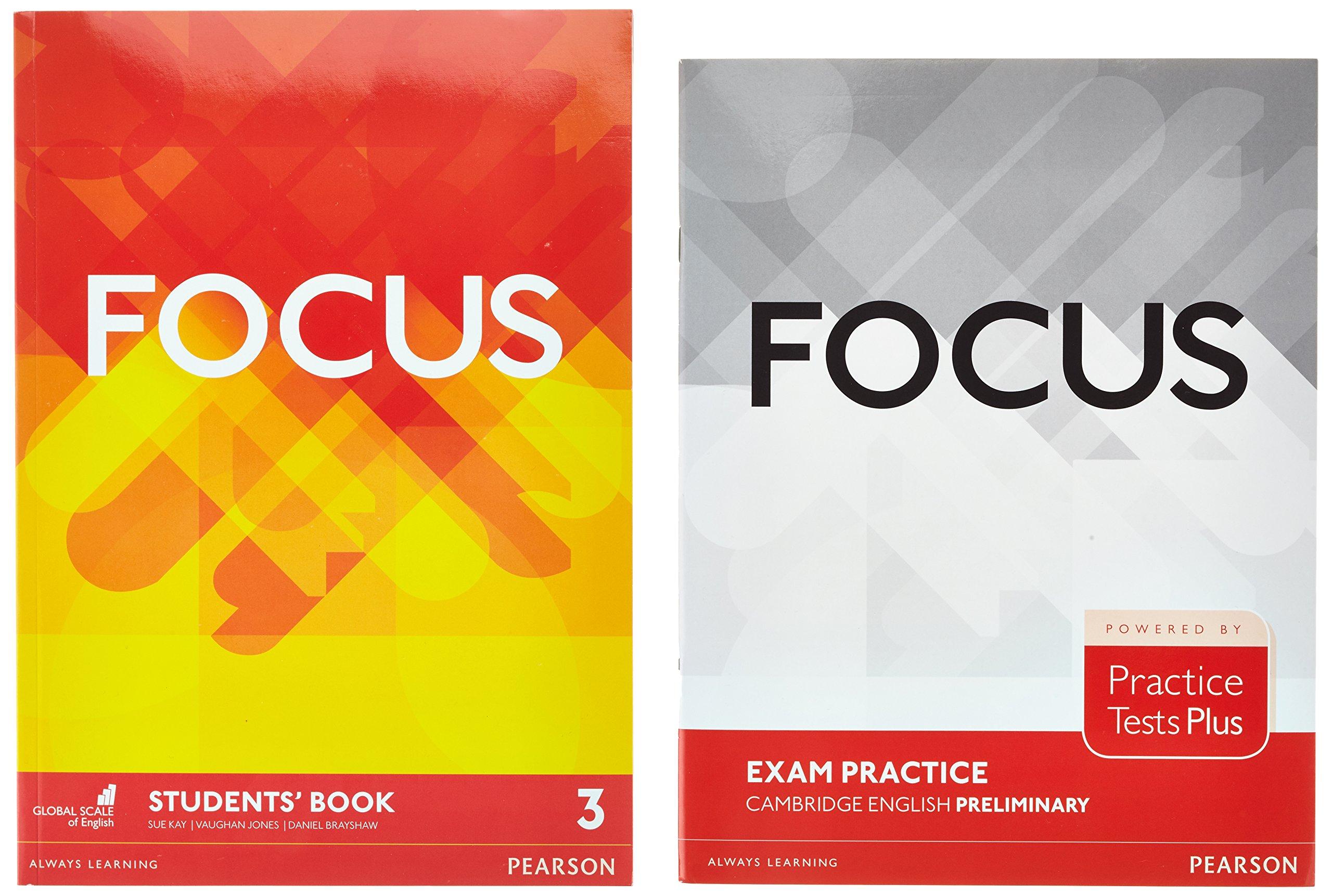 Focus BrE 3 Students Book & Practice Tests Plus Preliminary Booklet Pack: Amazon.es: Jones, Vaughan, Kay, Sue, Brayshaw, Daniel, Whitehead, Russell: Libros en idiomas extranjeros