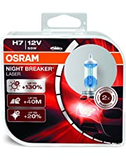 OSRAM 64210NBL-HCB Night Breaker Laser H7 Lámpara para Faros Halógena, Automóvil de 12 V, Caja Doble