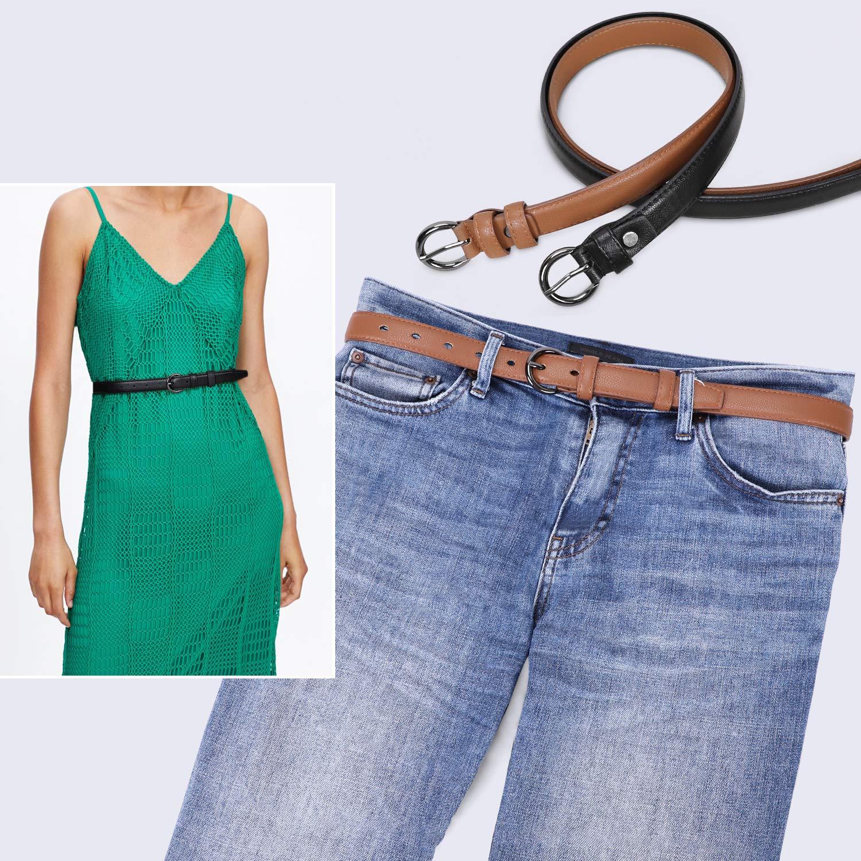 Amazon.com: Whippy - Cinturón de cuero para mujer, con ...