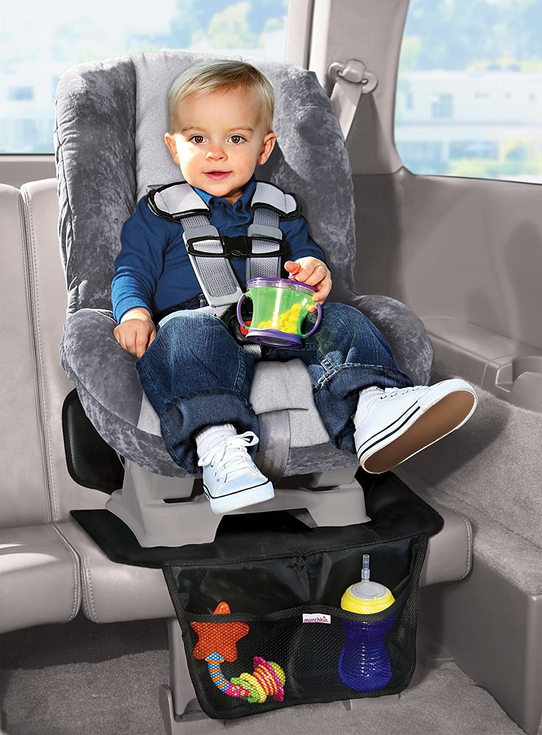 Amazon Munchkin Auto Seat Protector 2 Pack Child Safety Car Accessories Baby
