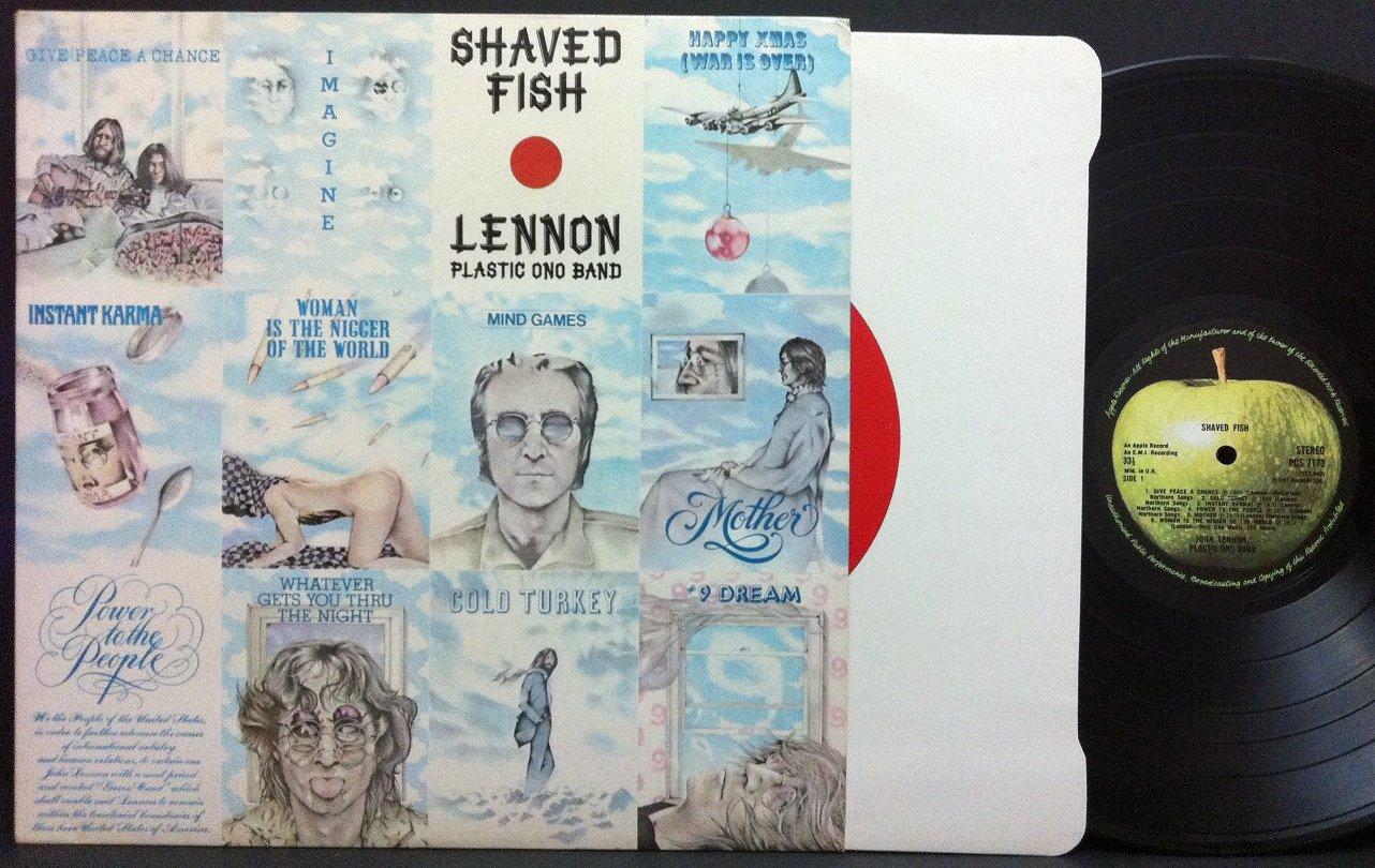 Shaved fish vinyl